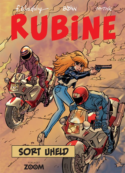 Billede af Rubine: Sort Uheld - Walthéry - Tegneserie