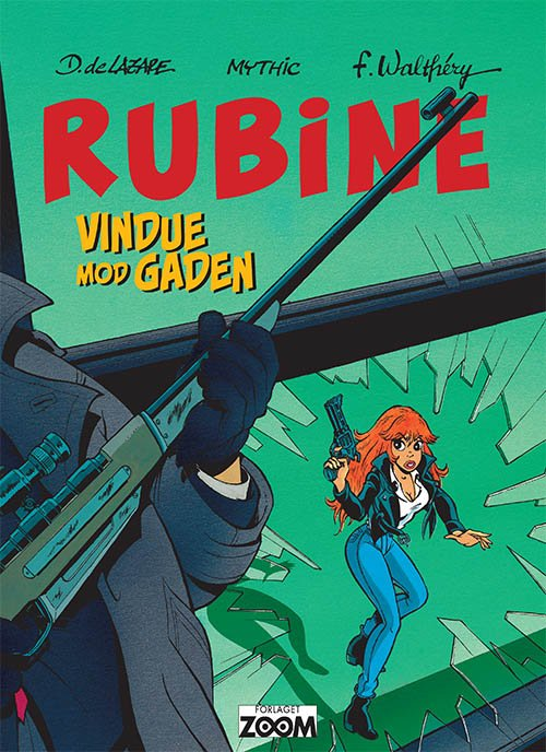 Billede af Rubine: Vindue Mod Gaden - Walthéry - Tegneserie