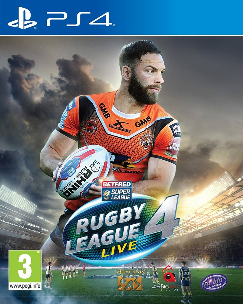 Image of   Rugby League Live 4 - World Cup Edition - PS4