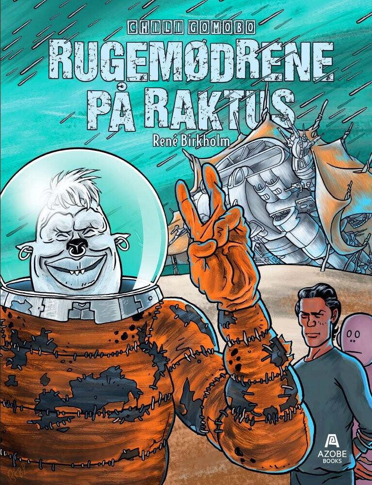 Billede af Rugemødrene På Raktus - René Birkholm - Tegneserie