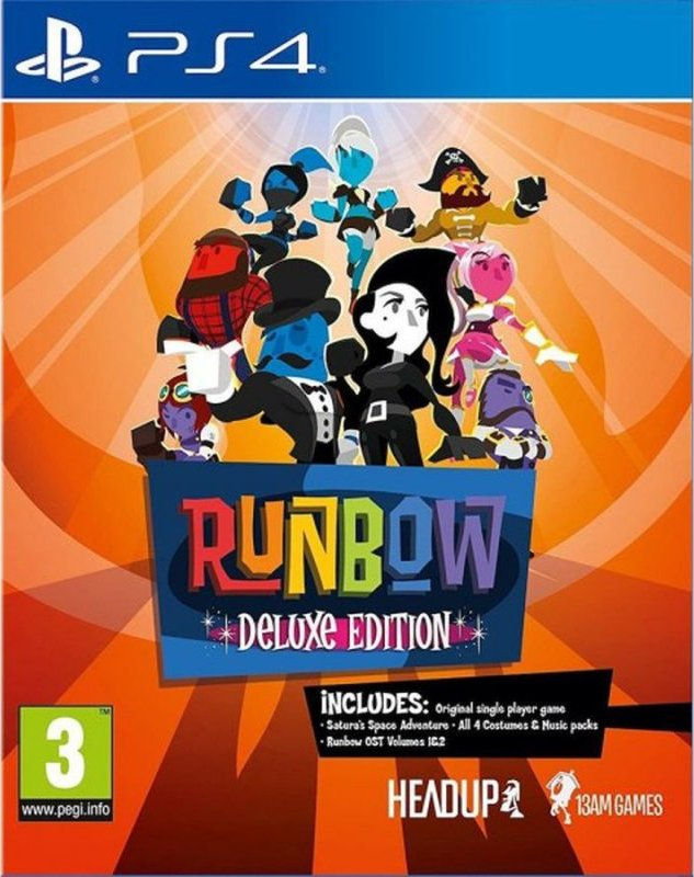 Image of   Runbow (collectors Pack - Includes All Dlcs) - PS4