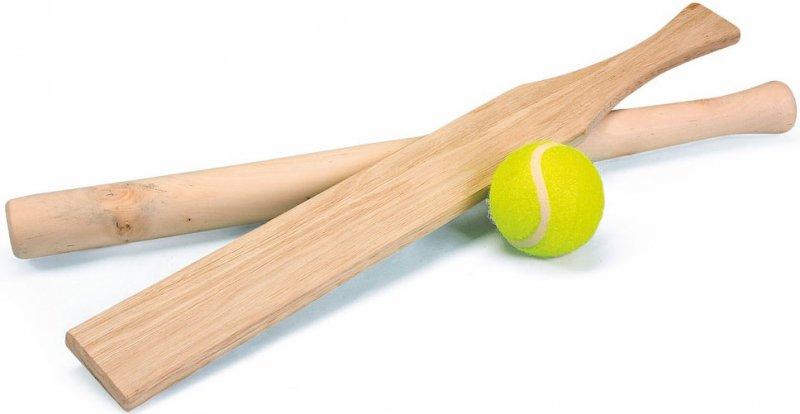 Sensationelle Rundboldsæt Med To Rundboldbat Og En Tennisbold → Køb billigt her LP43