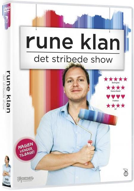 Image of   Rune Klan - Det Stribede Show - DVD - Film