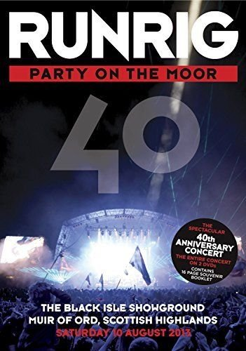 Image of   Runrig - Party On The Moor - 40th Anniversary Concert - DVD - Film