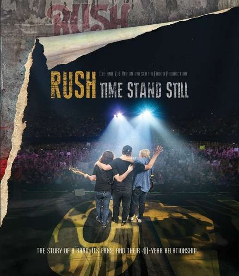 Image of   Rush - Time Stand Still - Blu-Ray