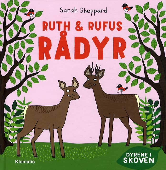 Image of   Ruth & Rufus Rådyr - Sarah Sheppard - Bog