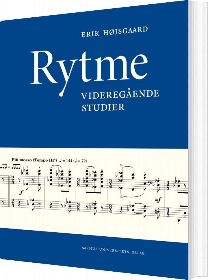 Image of   Rytme - Erik Højsgaard - Bog
