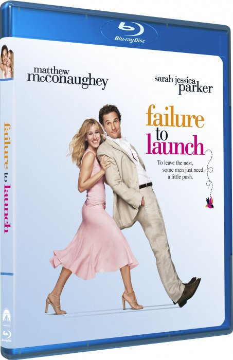 Billede af Så Flyt Dog / Failure To Launch - Blu-Ray
