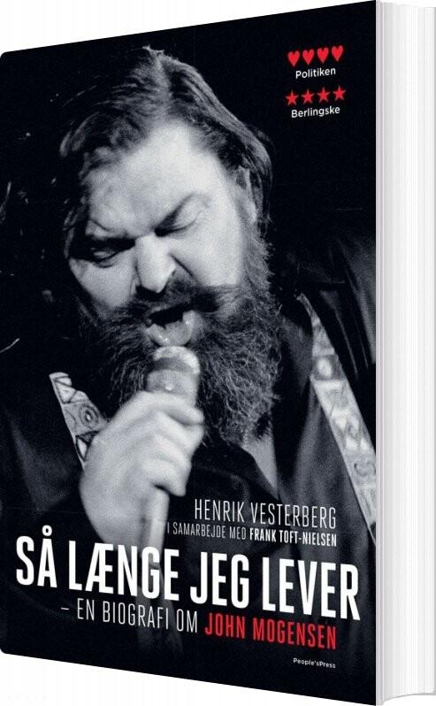 Så Længe Jeg Lever - Henrik Vesterberg - Bog