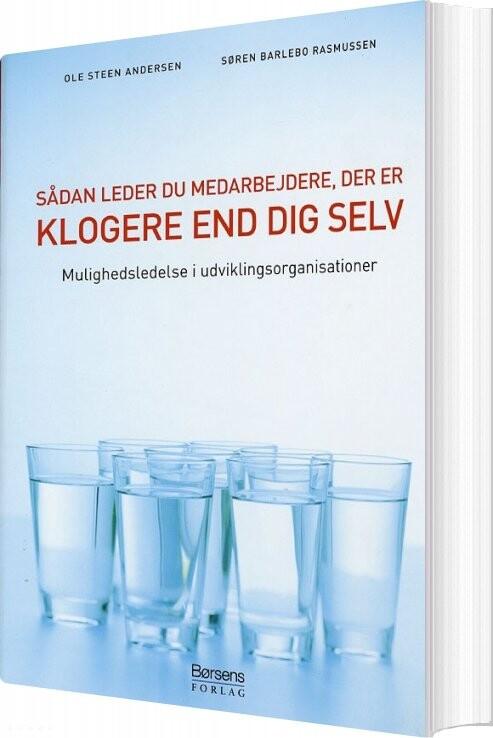 Image of   Sådan Leder Du Medarbejdere, Der Er Klogere End Dig Selv - Ole Steen Andersen - Bog