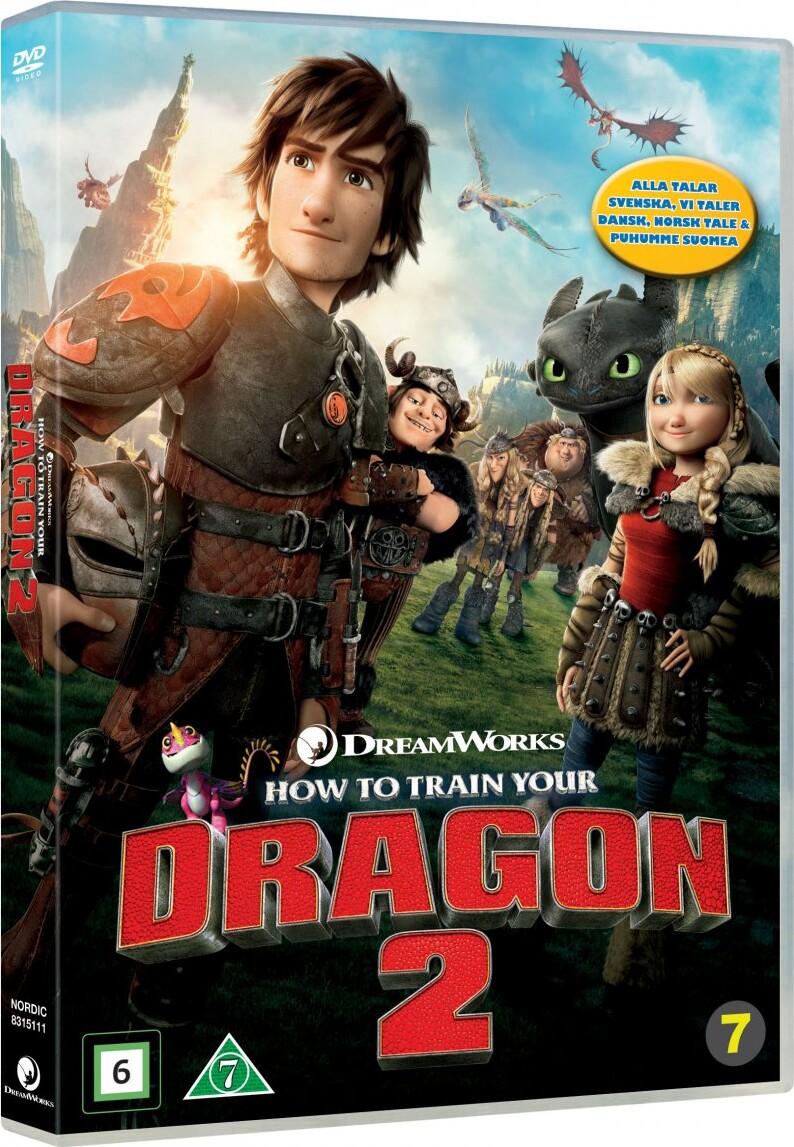 Billede af Sådan Træner Du Din Drage 2 / How To Train Your Dragon 2 - DVD - Film
