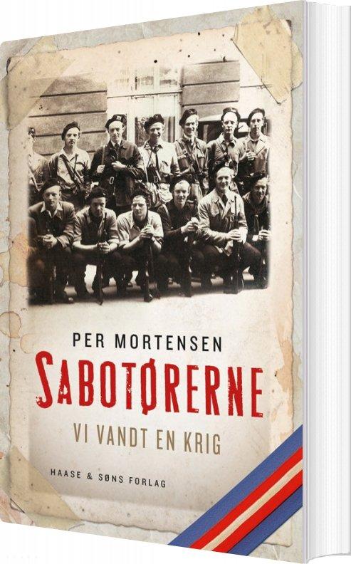 Image of   Sabotørerne - Per Mortensen - Bog