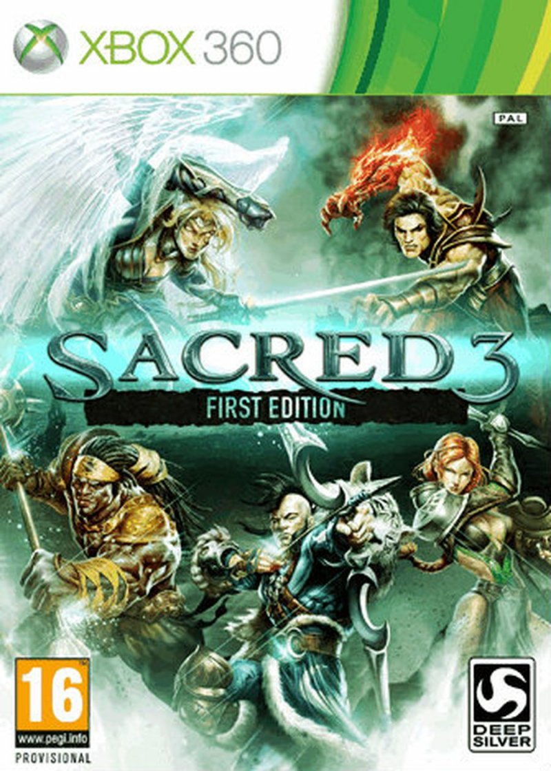Sacred 3 - First Edition - Xbox 360