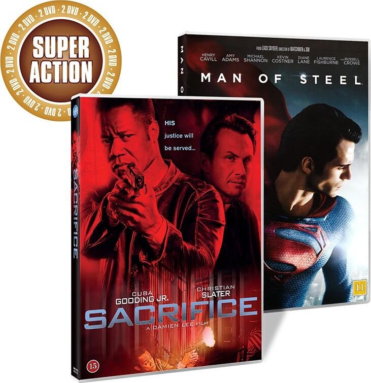 Image of   Man Of Steel // Sacrifice - DVD - Film