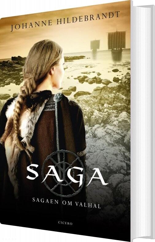 Saga Fra Valhal - Johanne Hildebrandt - Bog