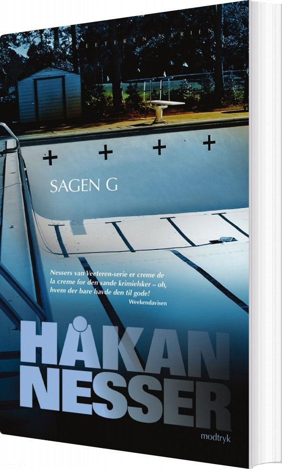 Image of   Sagen G - Håkan Nesser - Bog