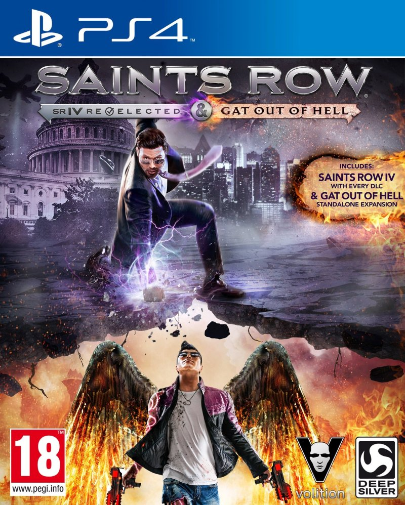 Image of   Saints Row Iv Re-elected: Gat Out Of Hell - PS4