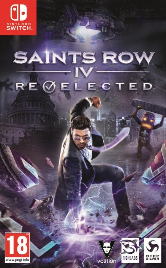 Image of   Saints Row Iv Re-elected - Nintendo Switch