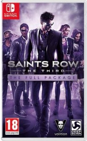 Image of   Saints Row The Third - The Full Package - Nintendo Switch