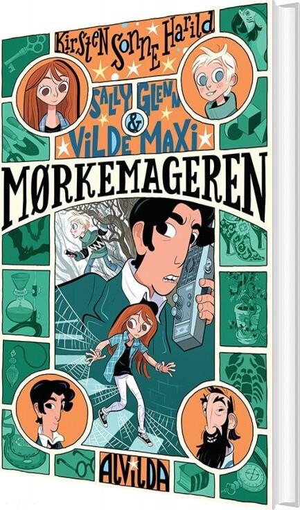 Image of   Sally, Glenn Og Vilde Maxi 2: Mørkemageren - Kirsten Sonne Harild - Bog