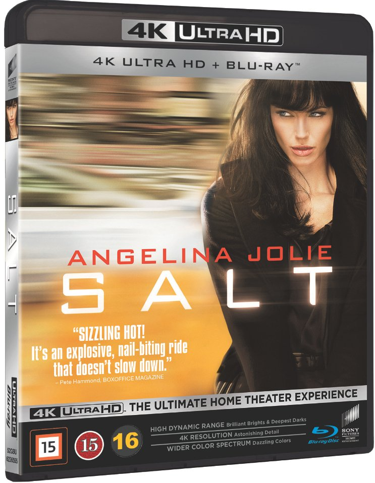 Image of   Salt - 4K Blu-Ray