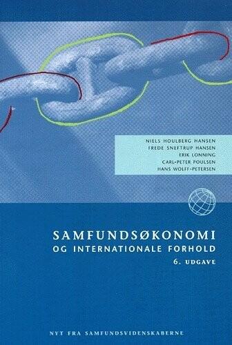 Image of   Samfundsøkonomi Og Internationale Forhold - Bog