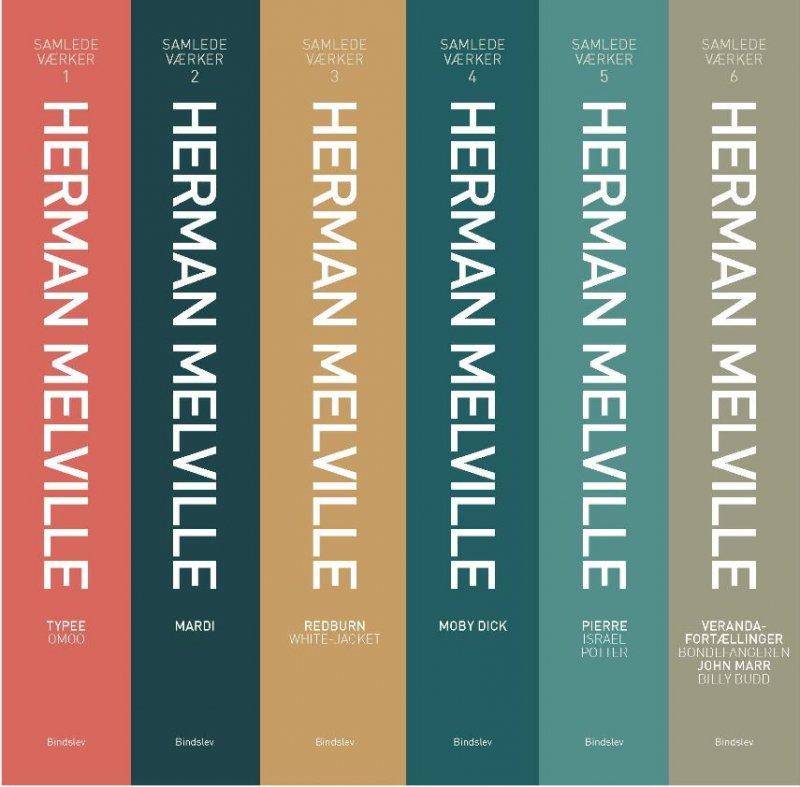 Image of   Samlede Værker 1-6 - Herman Melville - Bog