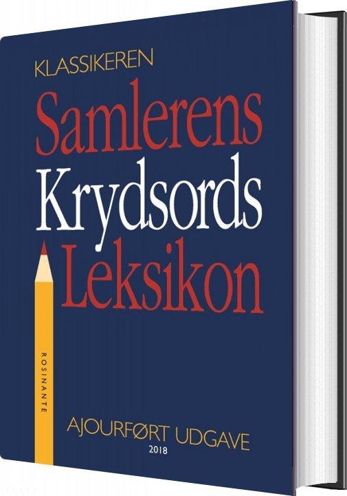 Image of   Samlerens Krydsords Leksikon - Jørgen Lethan - Bog