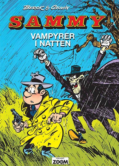 Billede af Sammy: Vampyrer I Natten - Raoul Cauvin - Tegneserie