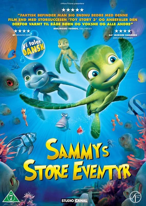 Billede af Sammys Store Eventyr - DVD - Film