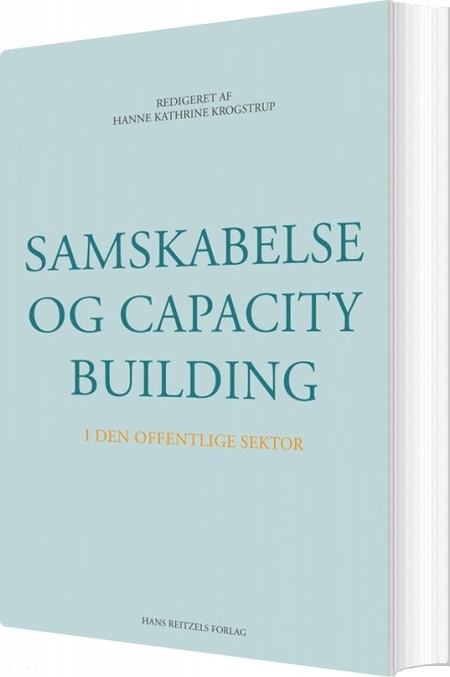 Image of   Samskabelse Og Capacity Building I Den Offentlige Sektor - Nikolaj Stegeager - Bog