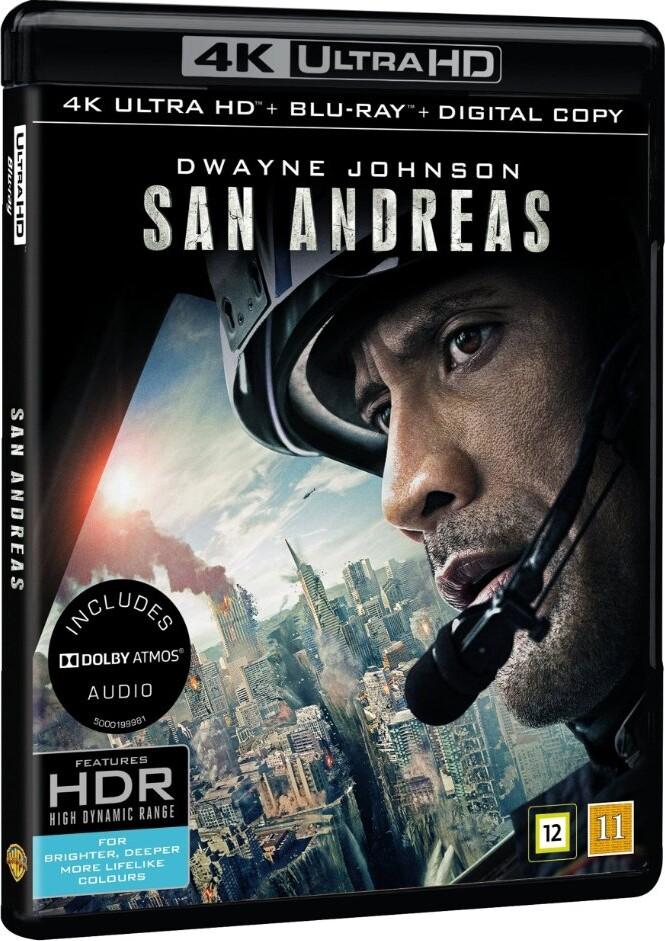 Image of   San Andreas Quake - 4K Blu-Ray