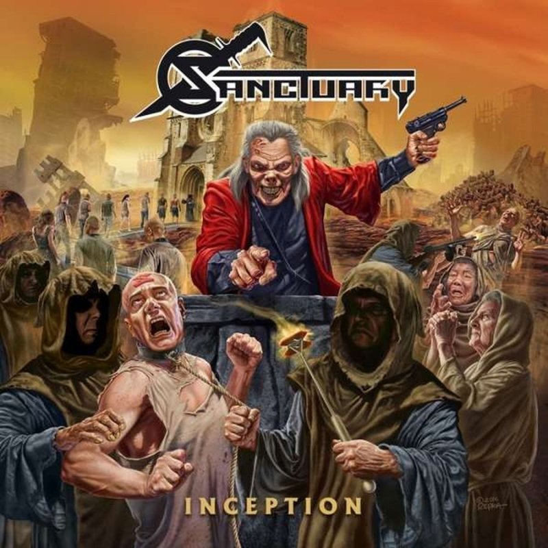 Sanctuary - Inception - Gatefold Black (lp+cd) - Vinyl / LP