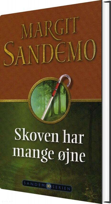 Image of   Sandemoserien 10 - Skoven Har Mange øjne - Margit Sandemo - Bog