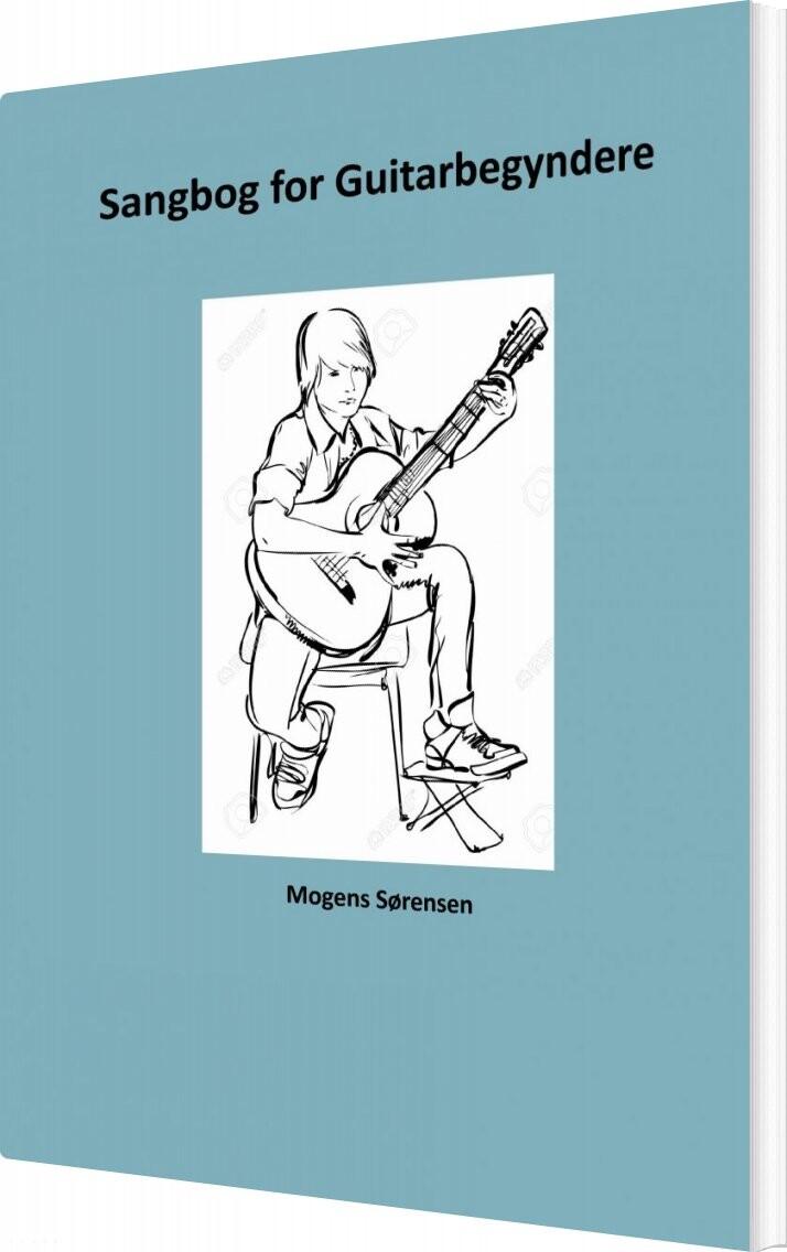Image of   Sangbog For Guitarbegyndere - Mogens Sørensen - Bog