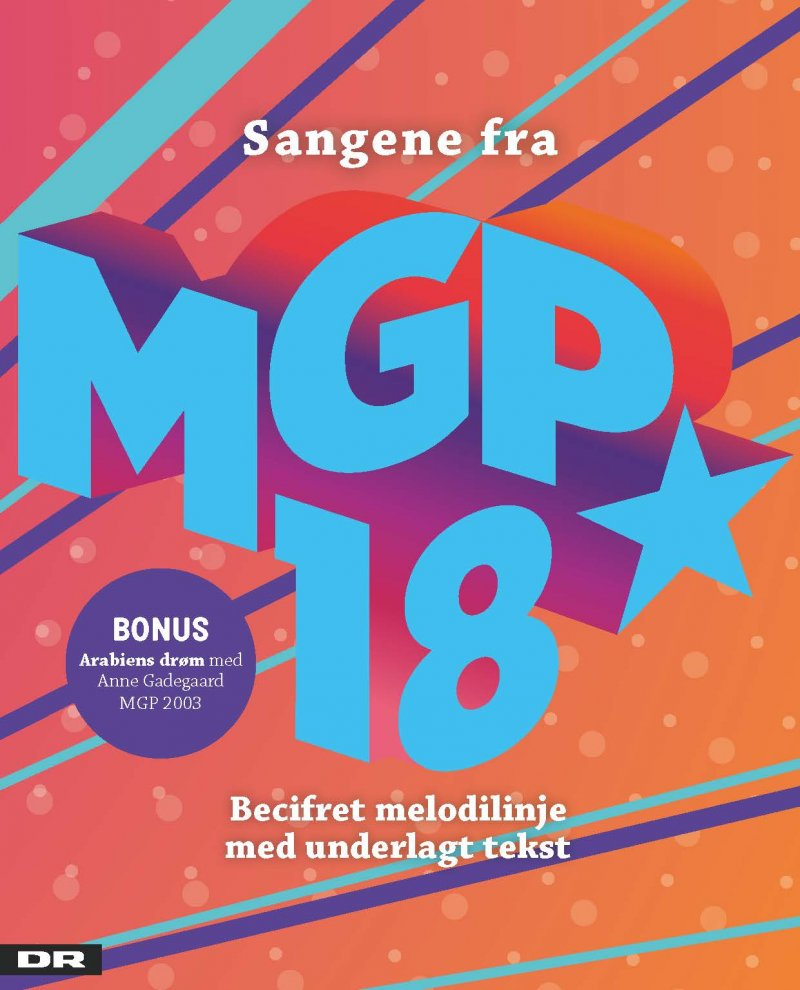 Sangene Fra Mgp 2018 - Diverse - Bog