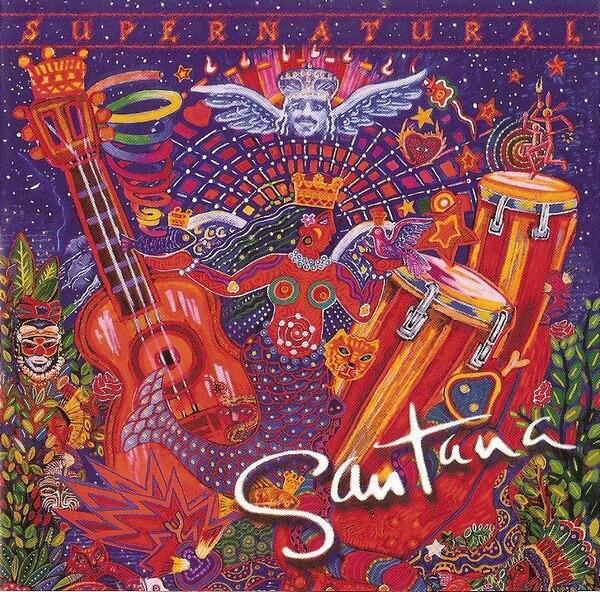 Billede af Santana - Supernatural - CD