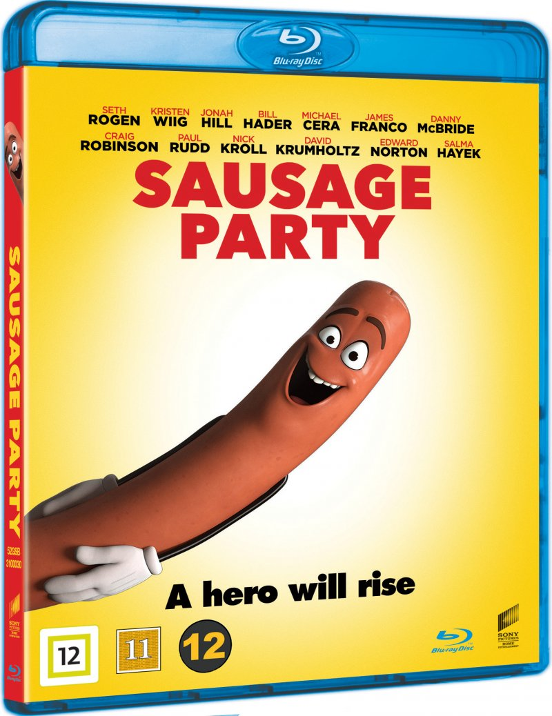 Image of   Sausage Party - Blu-Ray