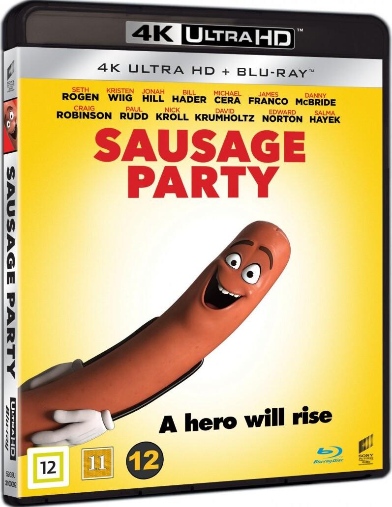 Image of   Sausage Party - 4K Blu-Ray