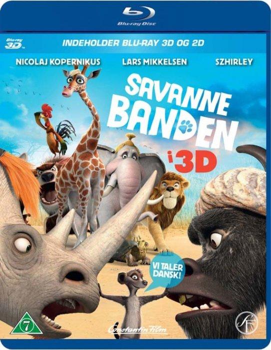 Image of   Savanne Banden / Animals United - 3D Blu-Ray