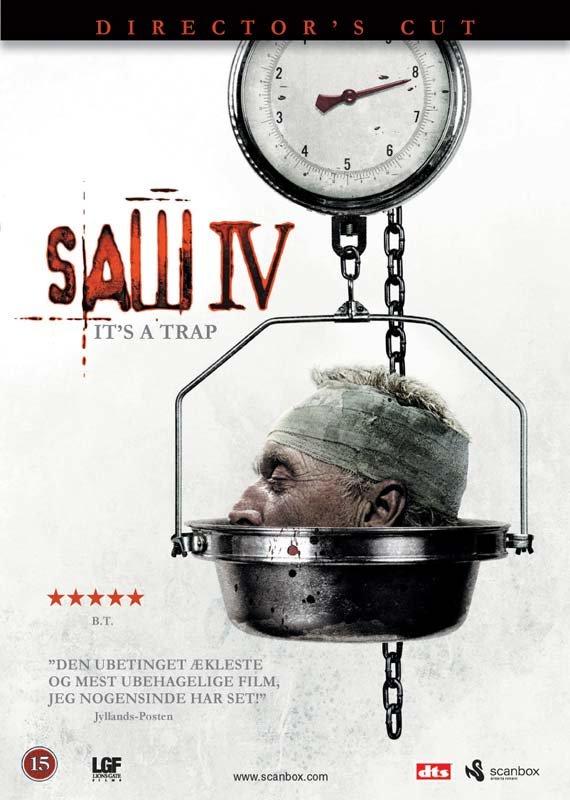 Billede af Saw 4 - DVD - Film