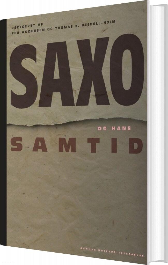 Saxo Og Hans Samtid - Per Andersen - Bog