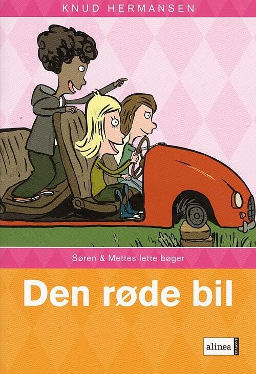 S Og M-bøgerne, Den Røde Bil - Knud Hermansen - Bog