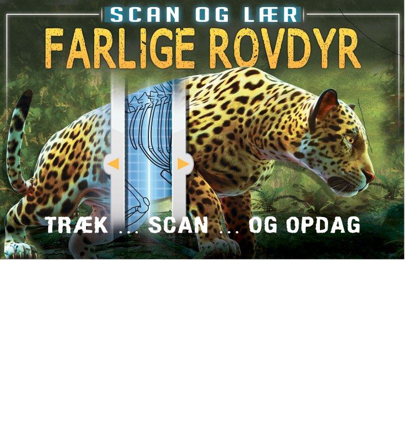 Image of   Scan Og Lær: Farlige Rovdyr - Diverse - Bog