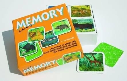 Memory Spil, Huske Spil, Vende Spil, Memo, Memory Spil Børn, Jungle