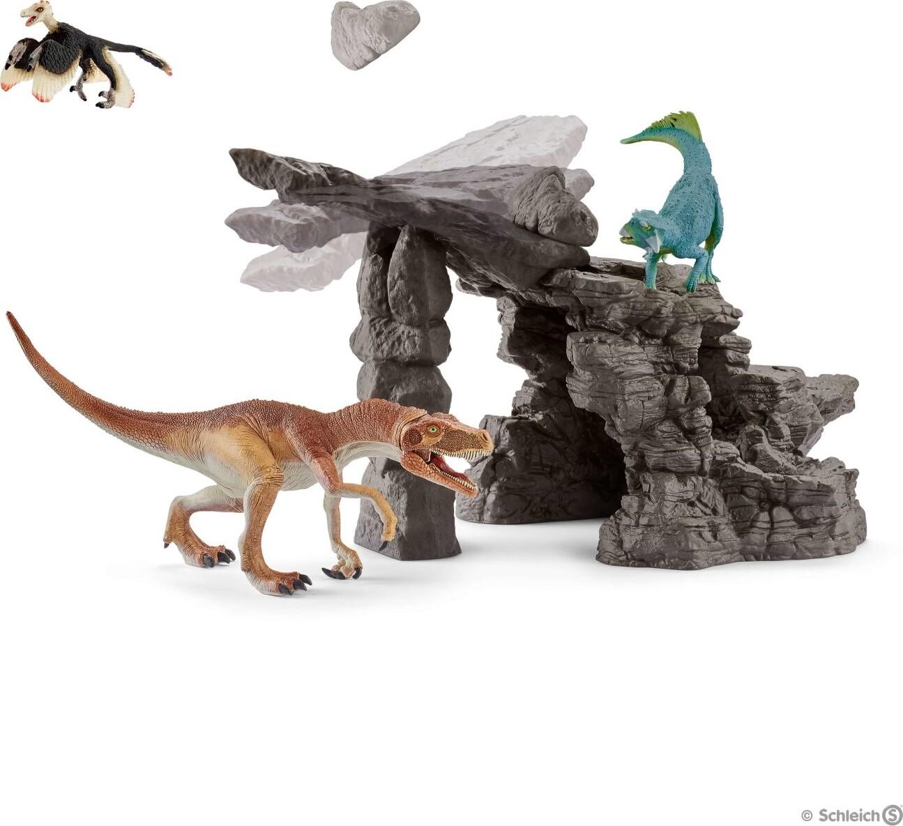Image of   Schleich Figurer - Dinosaur Legetøj Med Hule - 41461
