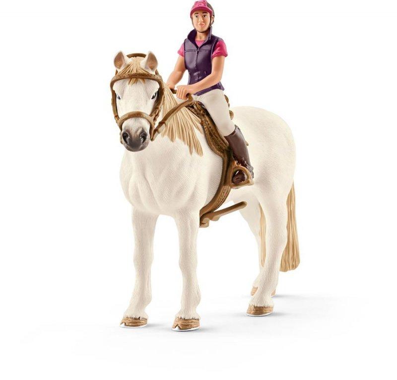 Schleich Hest 42359 - Fritidsrytter Med Hest