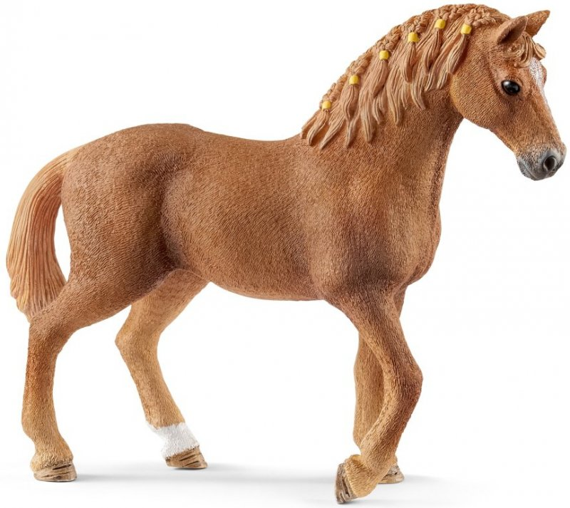 Hoppe hest Rody rød