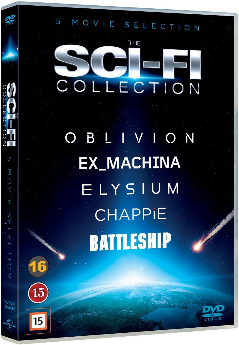Image of   Elysium // Oblivion // Ex Machina // Chappie // Battleship - DVD - Film