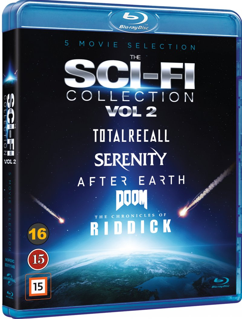 Image of   Doom // Serenity // Total Recall // After Earth // The Chronicles Of Riddick - Blu-Ray